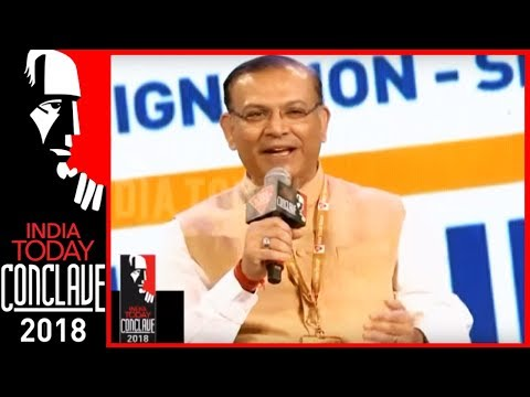 No Jobs Missing In India, But Missing Data On Job Creation : Jayant Sinha   #IndiaTodayConclave2018