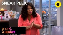Young & Hungry | Season 2, Episode 1 Sneak Peek: Josh & Yolanda | Freeform
