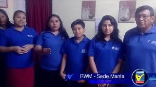 Saludo corresponsal Manta #RWM2AÑOS