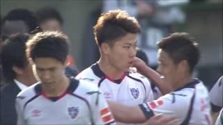 太田 宏介(FC東京)のフリーキックが直接ゴールに突き刺さり、チーム復...