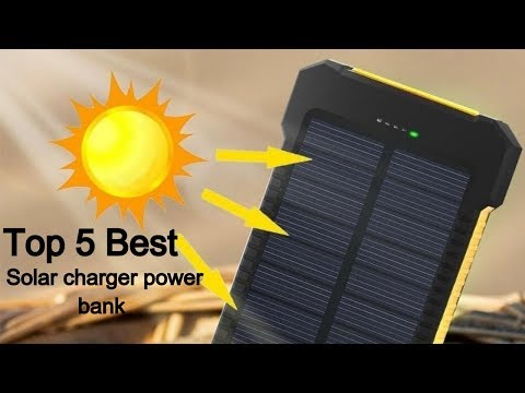 Top 5 Best solar charger power bank of 2019/2020