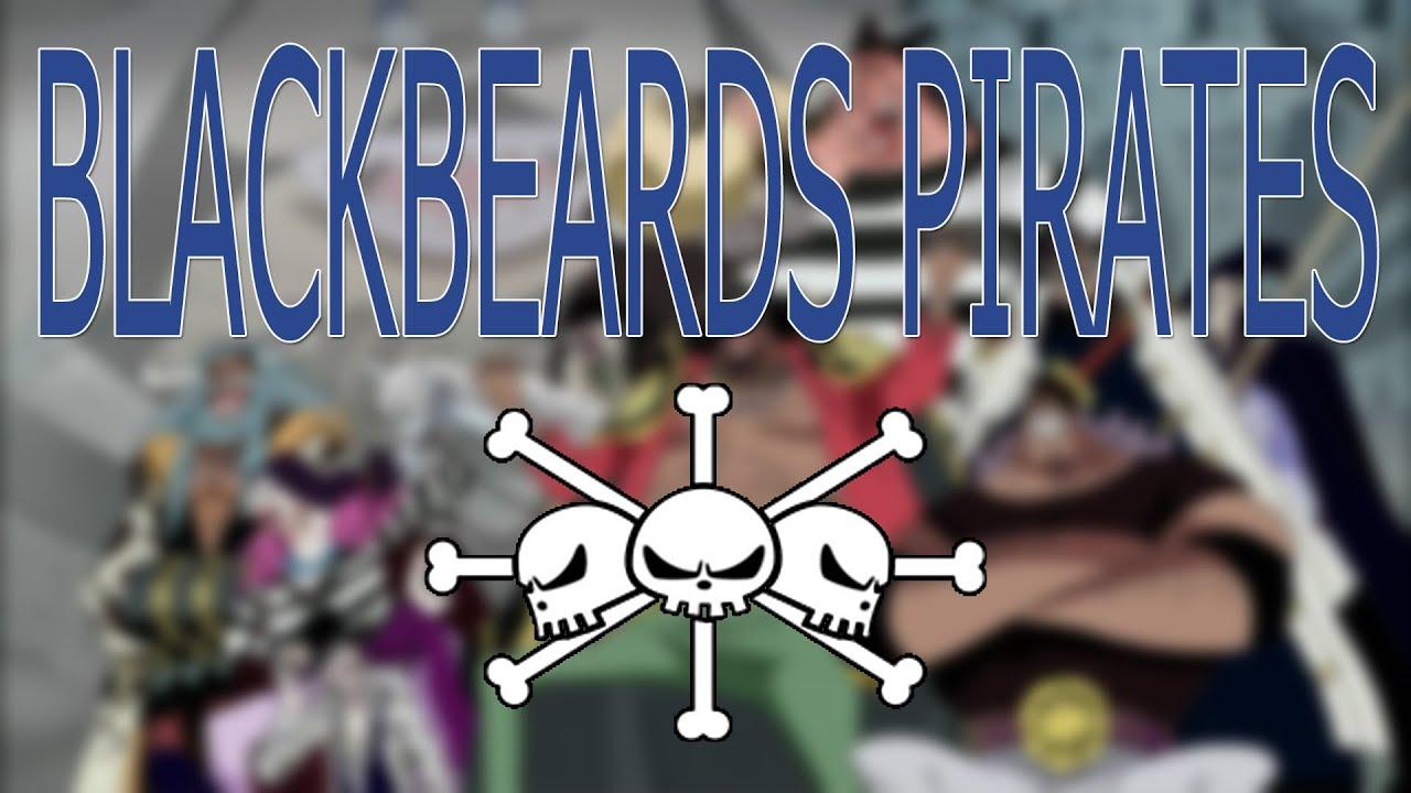 VO One Piece - Voice Actors   Blackbeard Pirates - YouTube
