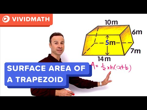 Surface Area Of Trapezoid