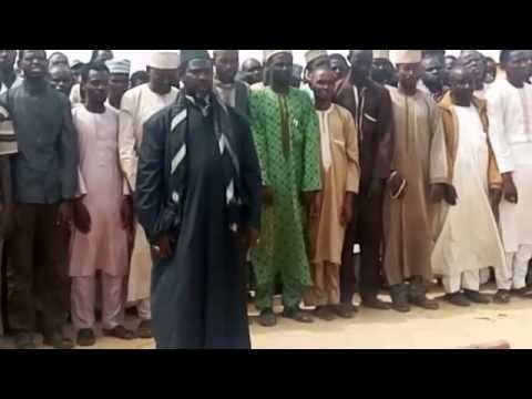 THE BURIAL OF ARBA'EEN SYMBOLIC TREKKERS KILLED BY THE POLICE