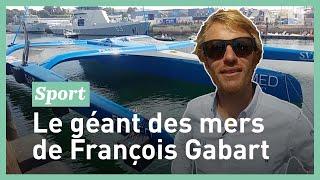 François Gabart nous présente son nouveau trimaran Ultim SVR-Lazartigue