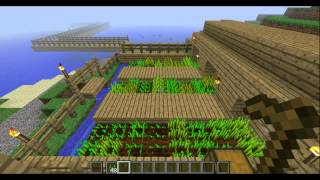 minecraft automatic weat farm