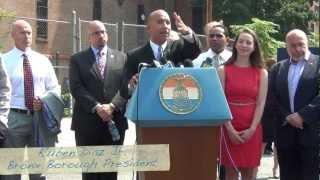 Borough President Diaz Supports the Kingsbridge National Ice Center