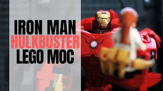 Iron Man Hulkbuster Project: A LEGO MOC