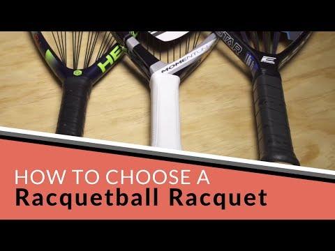 How to Choose a Racquetball Racquet