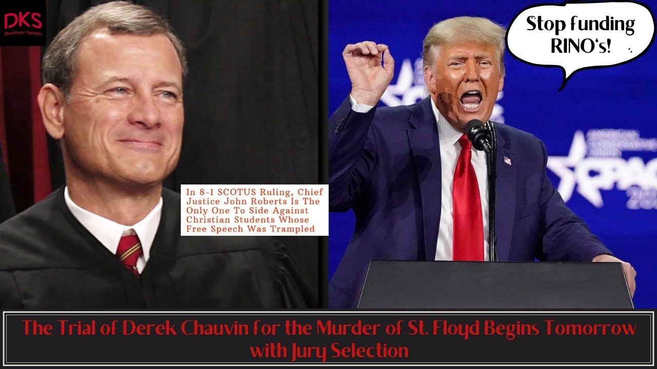 Chief Justice Roberts' SCROTUS is Utterly Useless and RINO's Try to Make a Quick Buck off Trump - YouTube