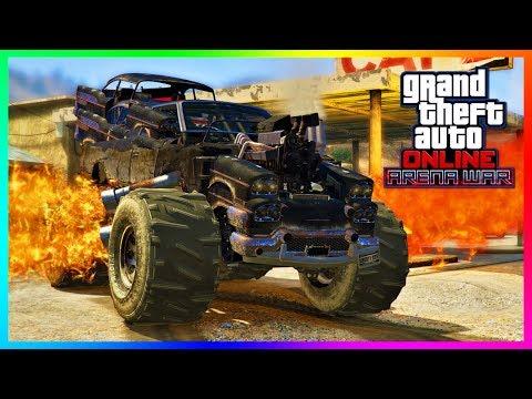 GTA Online - ARENA WAR DLC UPDATE! Release Date, NEW Vehicles, Stadium Opening & MORE! (GTA 5 DLC)