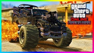 GTA Online - ARENA WAR DLC UPDATE! Release Date, NEW Vehicles, Stadium Opening & MORE! (GTA 5 DLC)