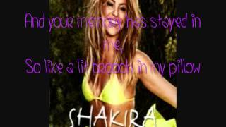 Shakira - Addicted To You - Spanish Version - English Lyrics