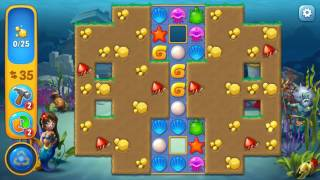 Fishdom level 26 Gameplay (iOS Android)