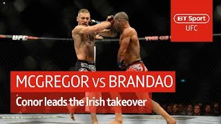 Conor McGregor vs Diego Brandão (full fight) | The Irish weren't here to take part...