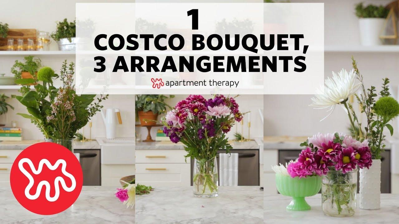 Costco Flowers Wedding.1 Costco Bouquet 3 Arrangements Apartment Therapy
