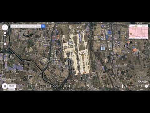 Beijing Airport - Satellite Image Time Lapse