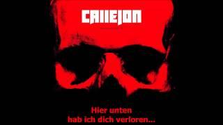 Callejon -  Unter Tage [HQ] [Lyrics]