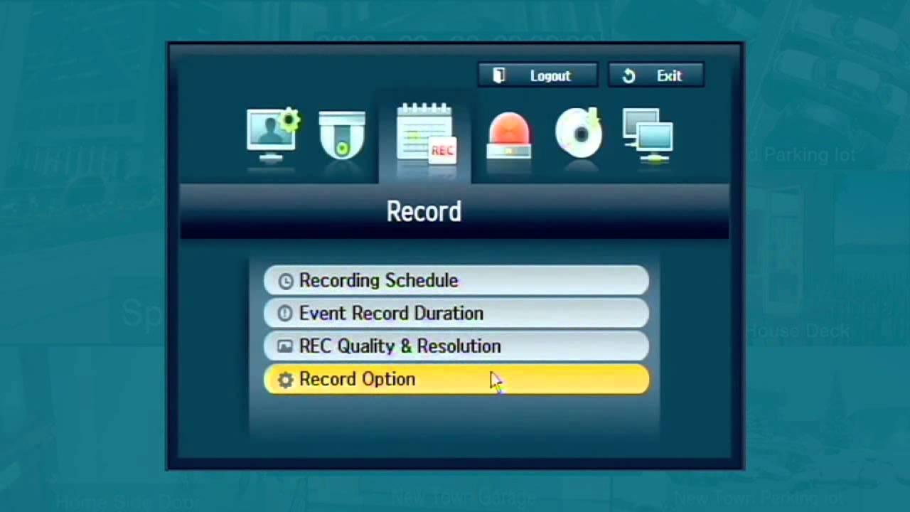 Samsung SDE-4001 Video Security System Setup