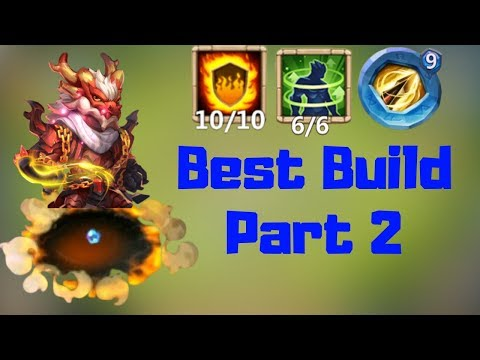 LandWalker | New Hero | Best Build Part 2 | Castle Clash