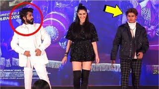 Lucky Dancer & Faizal Siddiqui DANCE With Warina Hussain At Munna Badnaam Hua Song Launch