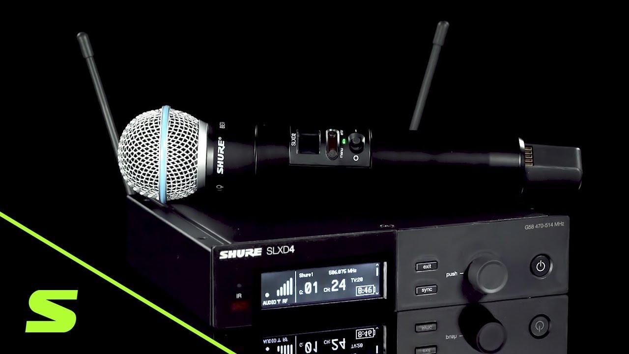 SHURE SLX-D デジタルワイヤレスマイクロホン