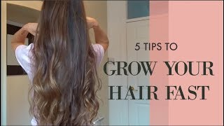 HOW TO GET LONG HEALTHY HAIR FAST!!