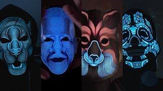 The Sound Reactive LED Mask | Outline Montréal | Live on Indiegogo (Official Video)