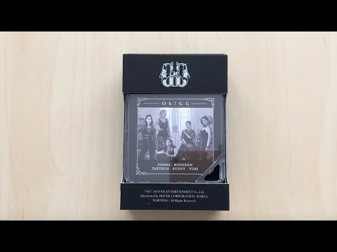 ♡Unboxing Girls' Generation-Oh!GG 소녀시대-Oh!GG 1st Single Album 몰랐니 (Lil' Touch) Kihno♡