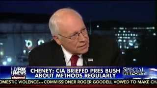 VP Dick Cheney on enhanced interrogation tactics