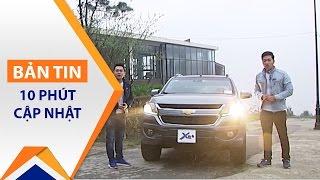 Trải nghiệm tận vô lăng với Chevrolet Colorado 2017   VTC