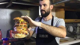 Adana'da Ultra Dev Burger - Burgerci Mükerrem
