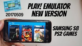 Play! Emulator New version released! PS2 games on Android (Samsung S8 exynos)smartphones/May build