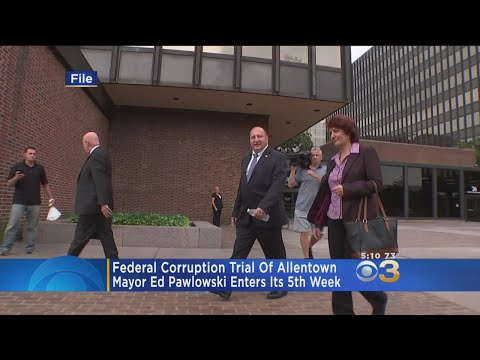 Federal Corruption Trial Of Allentown Mayor Enters 5th Week