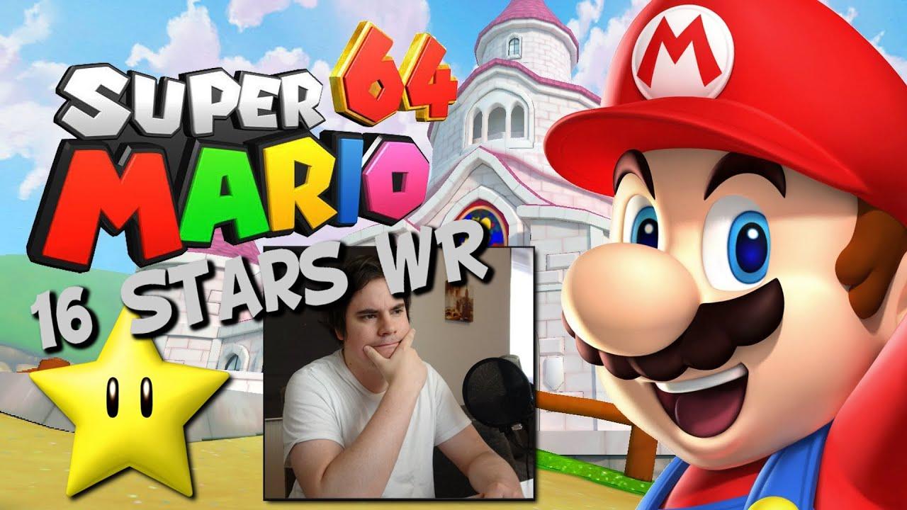 Super Mario 64 Welt Rekord Speedrun [16 Sterne] - Creepfan Reaktion