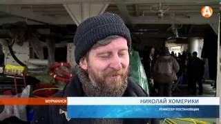 На атомоходе «Ленин» снимают новый художественный фильм-катастрофу «Ледокол» 29.04.2015