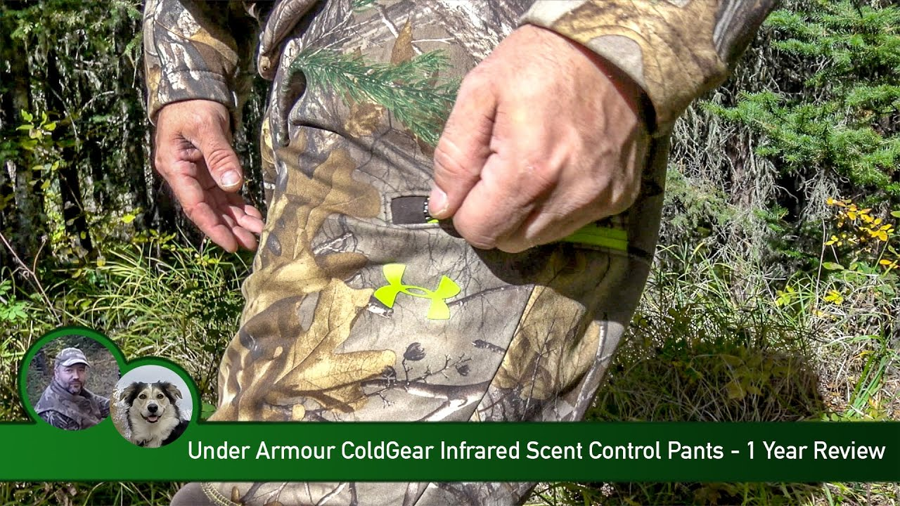 a763257f134a8 Under Armour ColdGear Infrared Scent Control Pants - 1 Year Review - YouTube