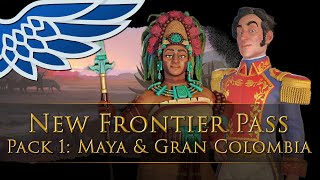 Civilization  6   Apocalypse Mode, Maya & Gran Colombia   New Frontier Pass Pack 1 - Civ 6 Lets Look