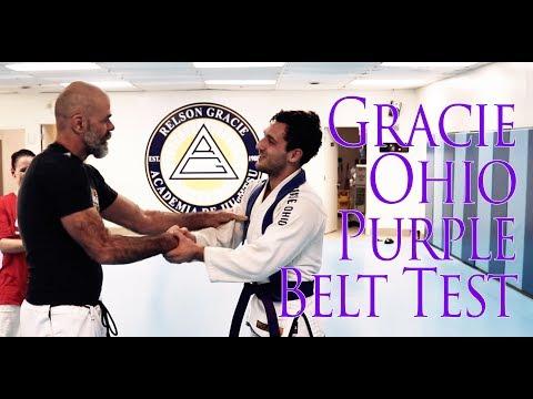 GracieOhio Purple Belt Test