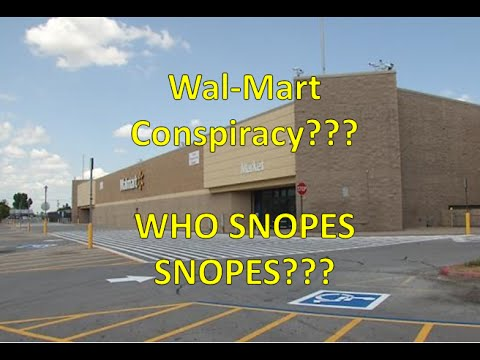WalMart Conspiracy Follow Up: Just My Opinion