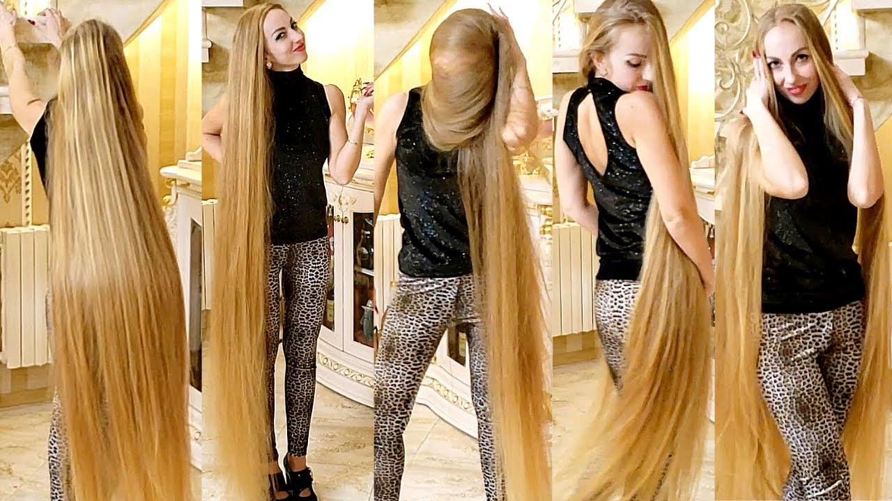 RealRapunzels | Rapunzel's Blonde Hair Dance (preview)