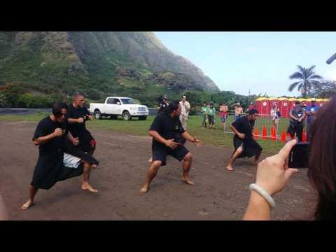 Ai Ha'a Protocol. ..makahiki challenge 2016 kualoa