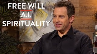 On Free Will, Spirituality, & Artificial Intelligence (Pt. 2) | Sam Harris | ACADEMIA | Rubin Report