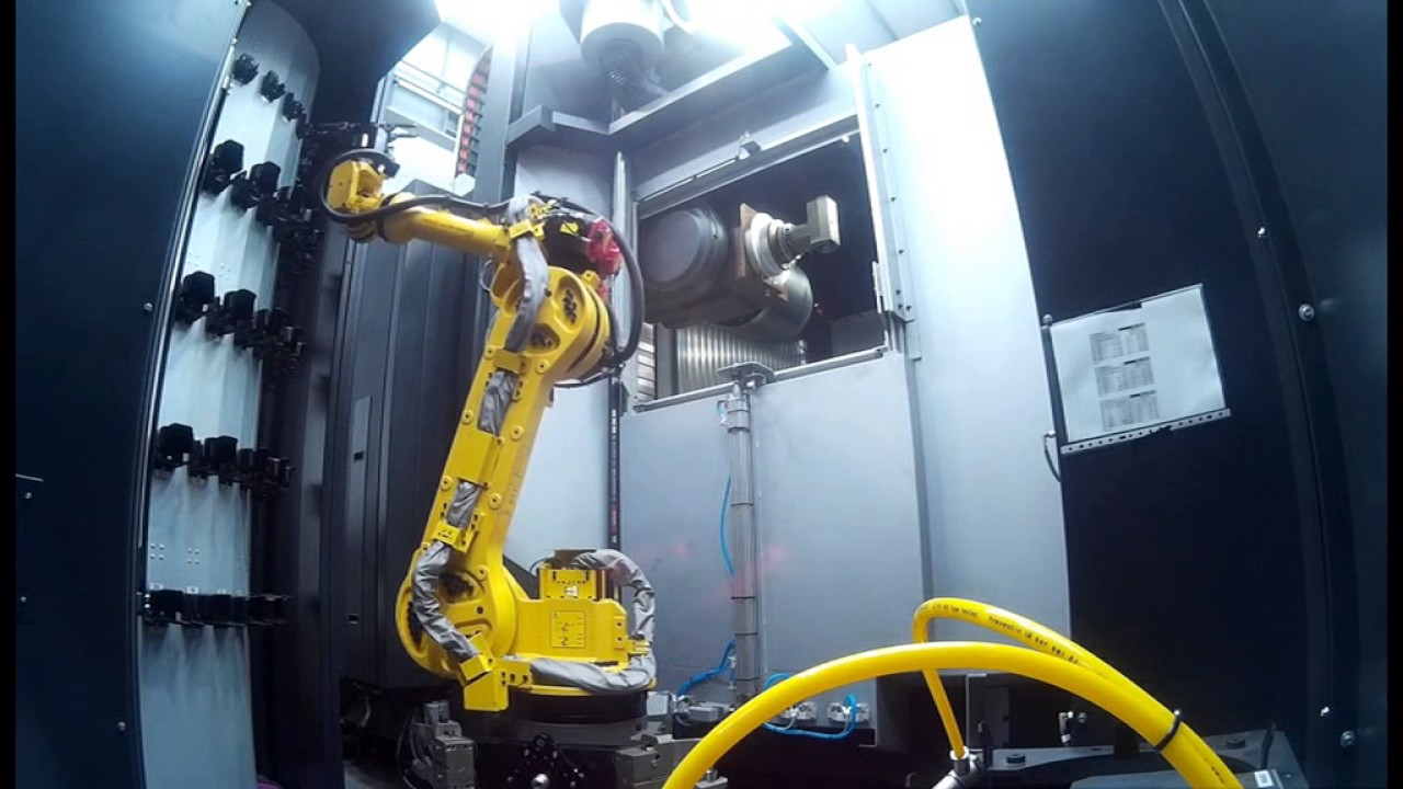 Ibarmia S Tool Change Automation With Robot Cell Youtube