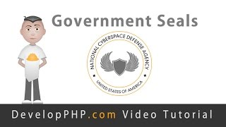 Government Seal Logo Graphic Design Fireworks Tutorial