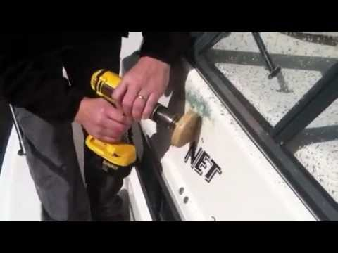 Removing Decals Off A Boat YouTube - Boat decals and stripes   easy removal