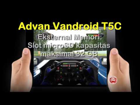 Advan Vandroid T5C, Tablet Android Kamera 8MP: Harga n Spek