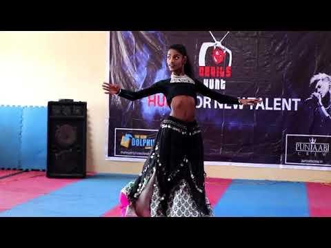 belly dance by jashandeep singh (rare talent)