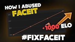 HOW I ABUSED FACEIT TO 2800 ELO BY PLAYING WITH LOW LEVELS #FIXFACEIT