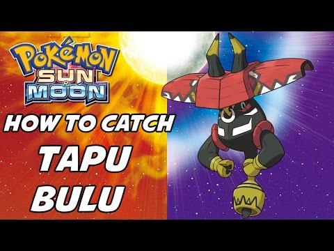 How to Catch Tapu Bulu in Pokemon Sun and Moon!